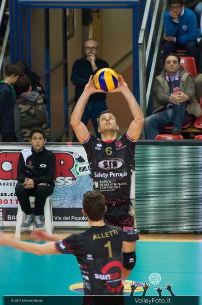 Daldello Nicola (Perugia) palleggio