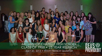 Chapelle Class of 1988 - 25 Year Reunion