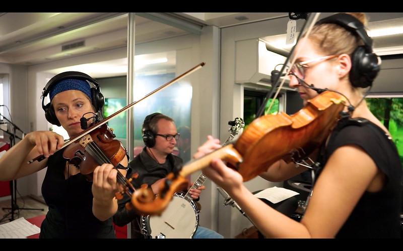 2013_08_20, Austria, Band session, eu.lb.org, JLETB, Salzburg, Audio Technica, Violin, Banjo