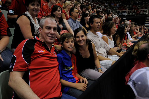 Perth Wildcats vs Blaze 1st Semi Final 18/02/2010