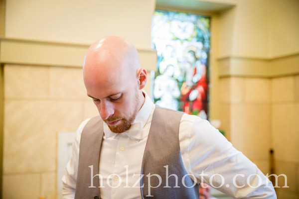 Cristalle & Adam Color Wedding Photos