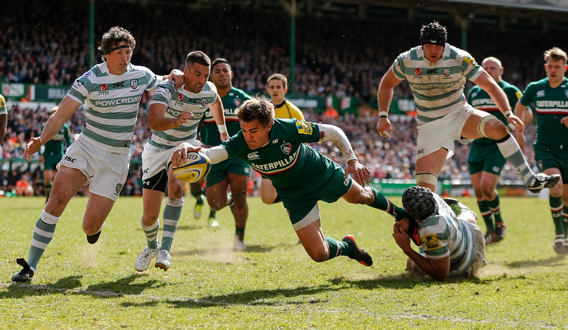 Rugby Union - Leicester Tigers v London Irish