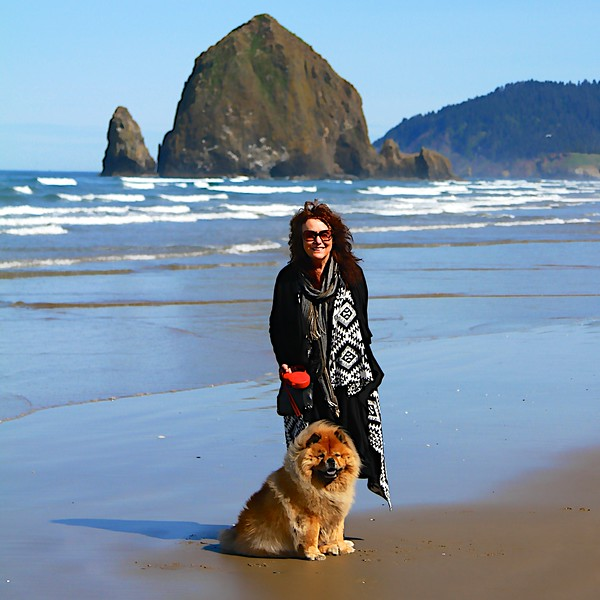 My Birthday day!  May 12, 2014 Cannon Beach Oregon