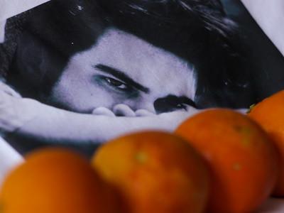 Maglietta di Daniele, arance di Daniela