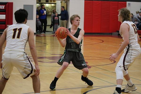 TC boys' basketball 2-14-19 (Class 1A District 2 boys' basketball tournaments)