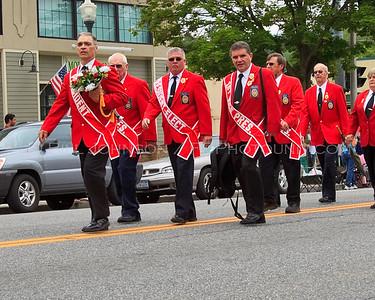 Hudson Valley Volunteer Firefighters Convention Parade - Lake George N.Y. 6/20/2009