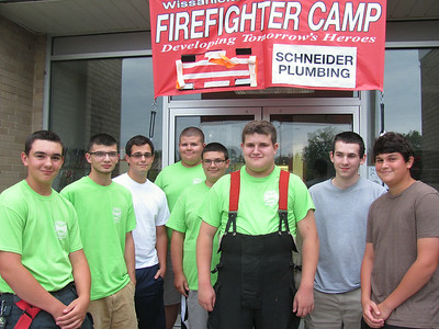 Wissahickon Fire Company fire camp