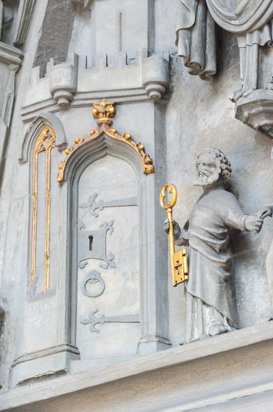 Tympanon Detail (Petrus) (NEY)