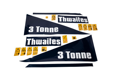 THWAITES 3 TON DUMPER SERIES DECAL SET