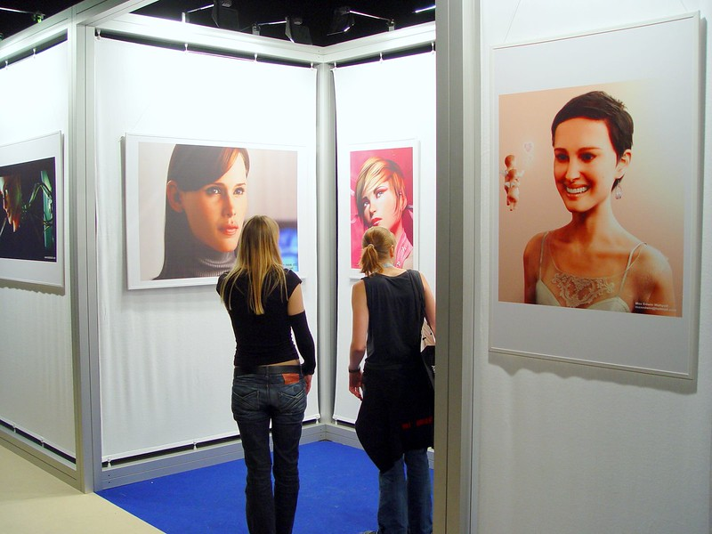 Games Convention virtual characters expo