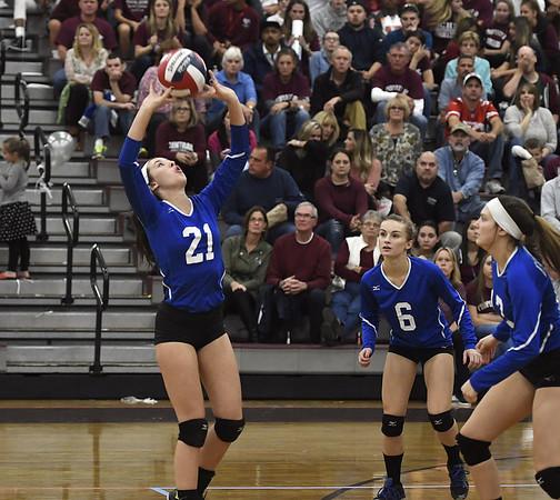 Bristol Eastern girls volleyball 10-26