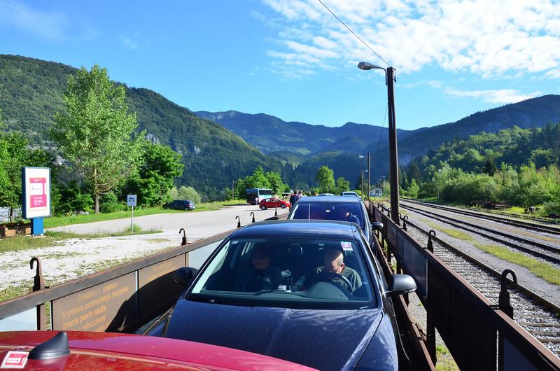 Car Train. Bohinjska Bistrica