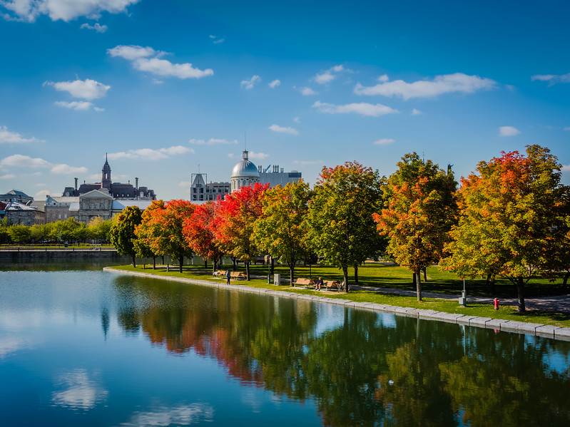 Travel Photography Blog - Canada. Montreal. Old Port. Fall Colors