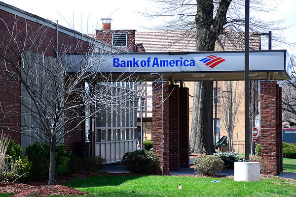 4/7/2020 Mike Orazzi | Staff Bank of America on West Main Street in New Britain.