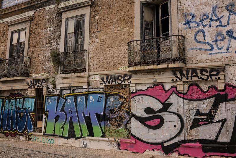 Faro grafitti