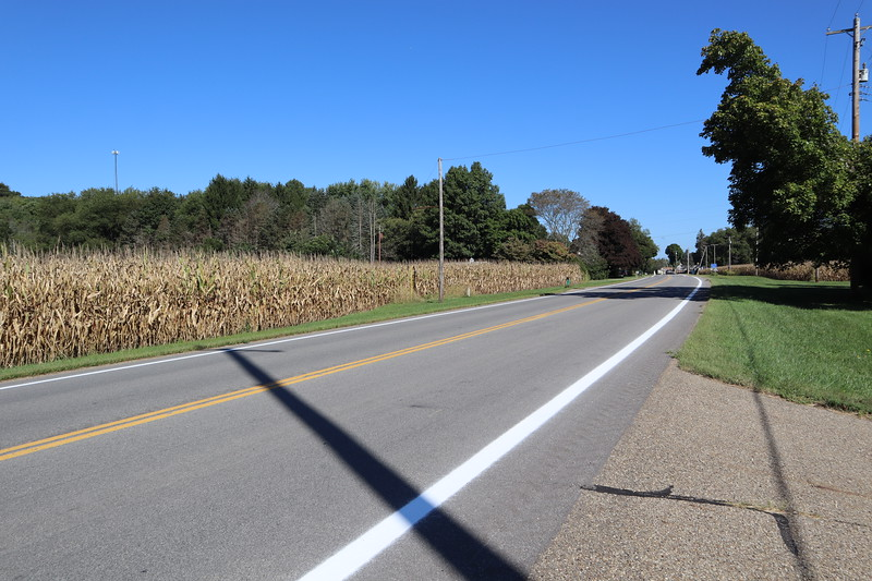 South boundary of Schoenbrun Tract