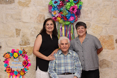 90th  Birthday  Johnny Lozano GROUPS With lower 3rd