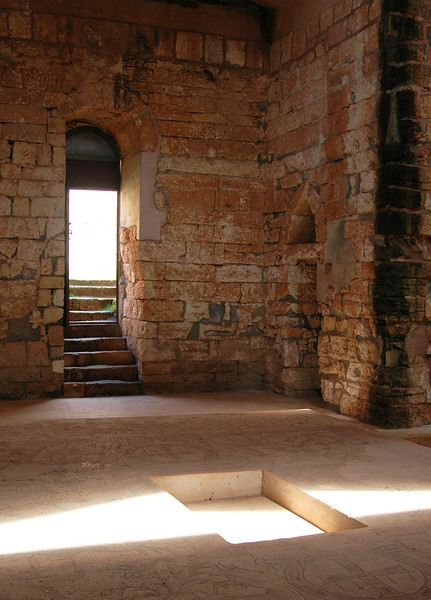 Qasr Libya: Byzantine church, 6th century A.D.