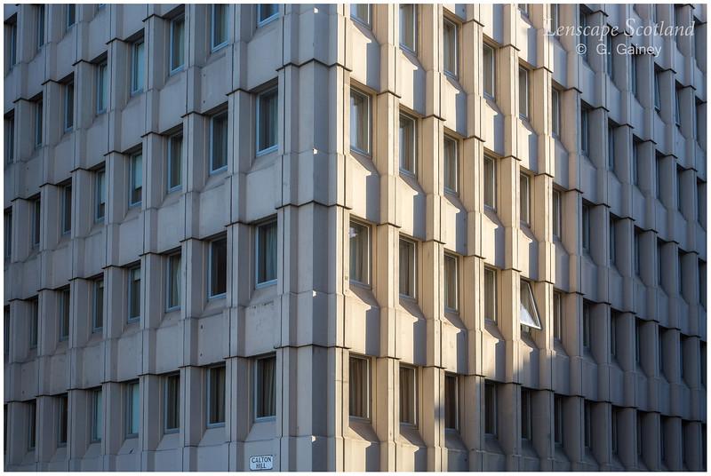 Office block facade, Calton Road