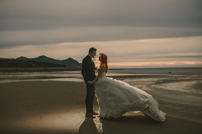 Anna and Blake's Epic North Wales Wedding