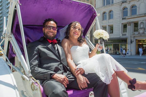 Aisha & Christopher Central Park Wedding