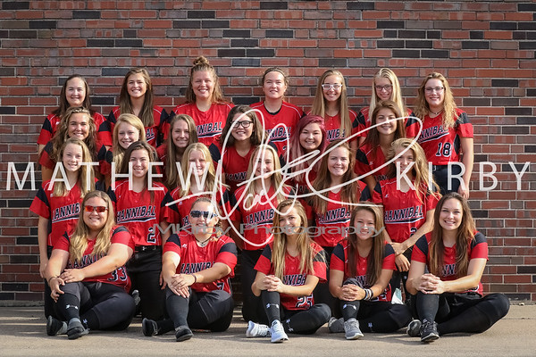 Lady Pirate Softball '17