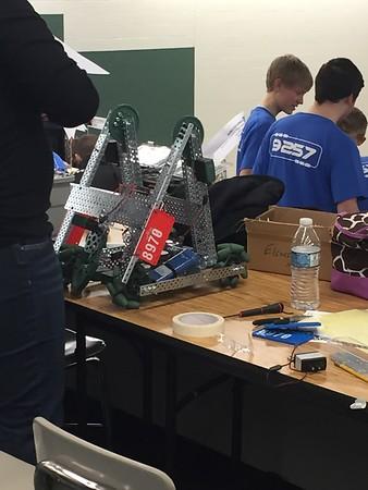Drew's robotics competion