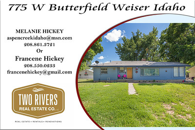 775 W Butterfield Weiser Idaho - Melanie Hickey