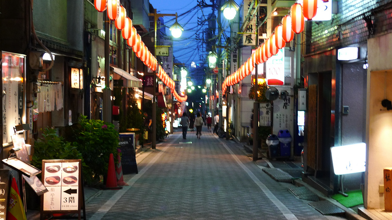 Kagurazaka by night
