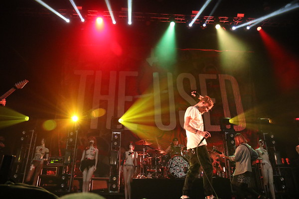 The Used @ Musink 2017 @ The OC Fairgrounds, Costa Mesa CA 03-18-17