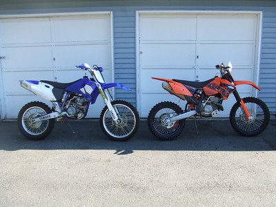 2007, August 5th:  Old dirtbike