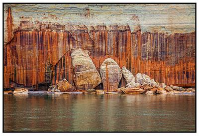 Michigan Pictured Rocks National Seashore