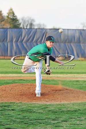 4-23-2014 Birar Woods at Woodgrove Baseball (Varsity)