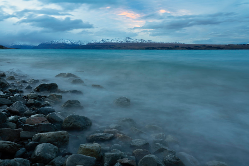 Dusk Light on Lake Pukaki