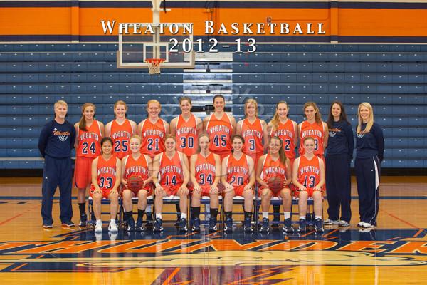 Wheaton College 2012-13 Women's Basketball Team