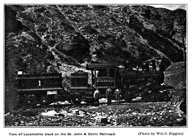St. John & Ophir No. 1 (Will C. Higgins Photo, Salt Lake Mining Review, August 15, 1912)