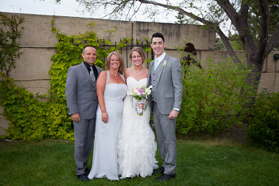 Bride and Grooms Family