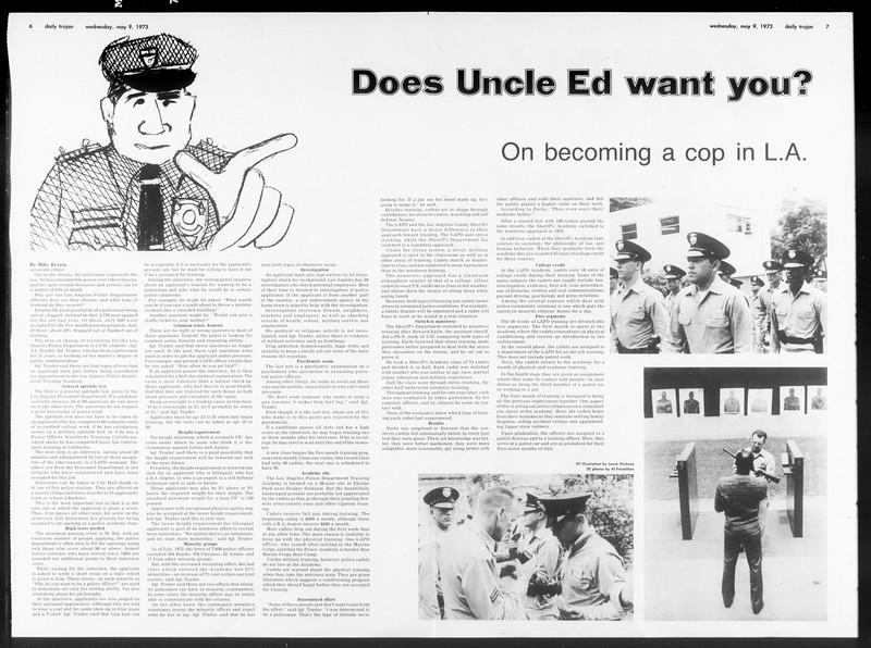 Daily Trojan, Vol. 65, No. 123, May 09, 1973