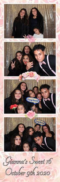 Gianna's Sweet 16 - October 9th 2020