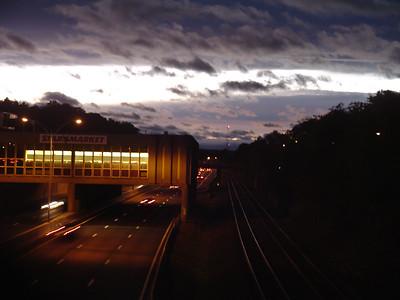 cool sunset/cloud break, 10/05