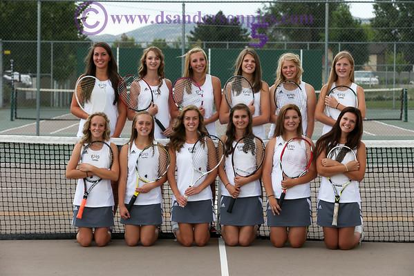 2013 08 20 RHS GIRLS TENNIS TEAM PICS