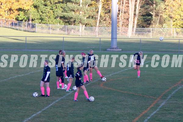 Sullivan West vs. S.S. Seward Girls Soccer Senior Night 10-13-16