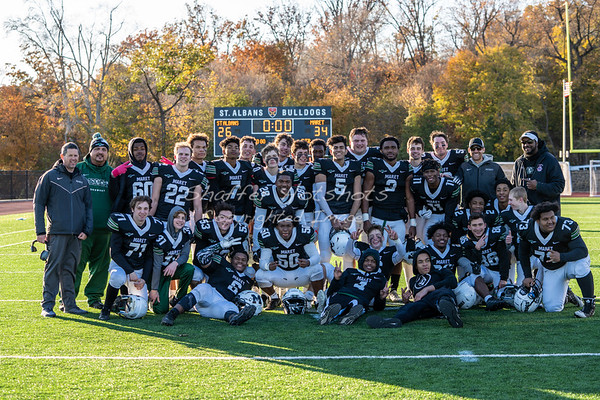 Fall 2019: DCSSA Semi-final Football vs St.. Albans