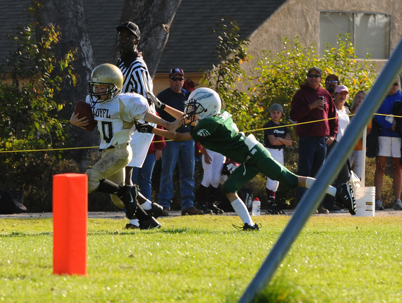 Touchdown - Kevin Creel (photo by Tina Creel)