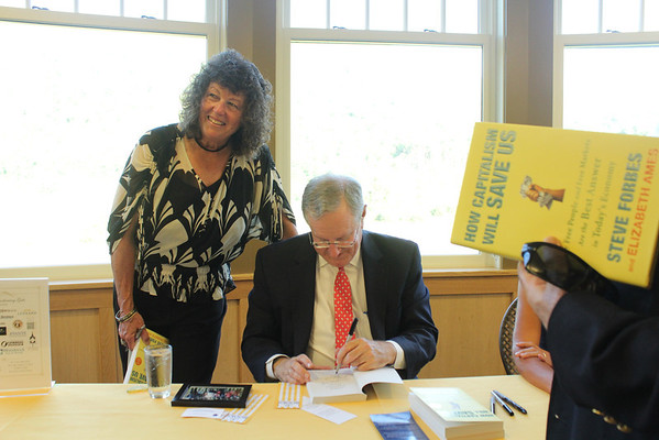 Steve Forbes at Calvin Coolidge Summer Speaker Series