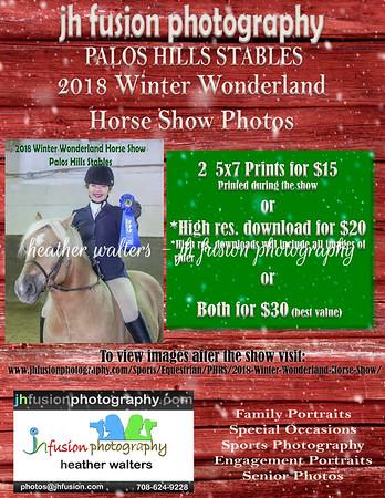 2018 Winter Wonderland Horse Show