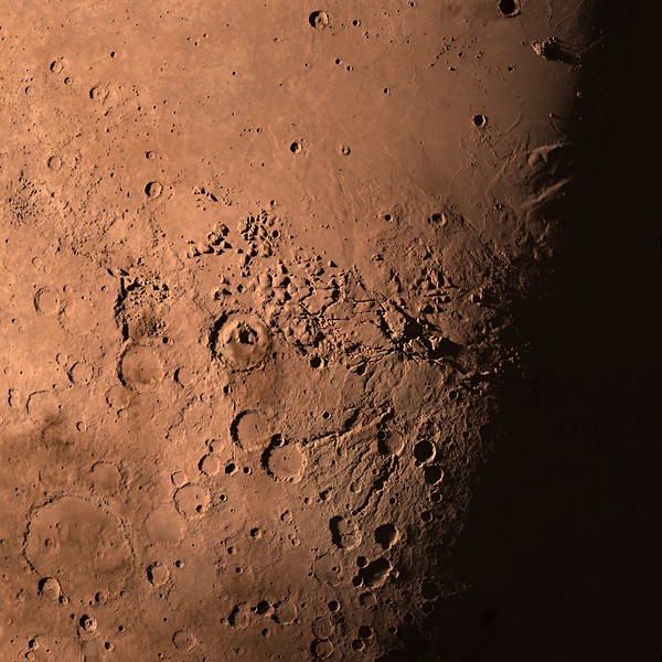 Gale Crater - Curiosity Rover on Mars