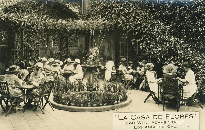 """""""La casa de flores"""", 240 West Adams Street, Los Angeles, California"""