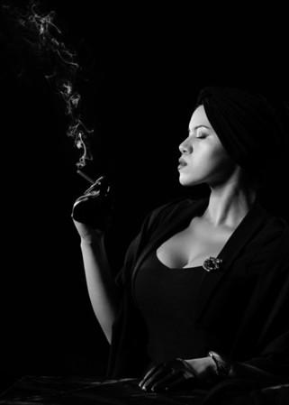 Michi Smoking Film Noir - Edits