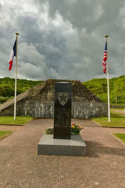 Monument near Saint-Laurent-sur Mer (Omaha Beach)